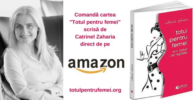 comanda Amazon carte Catrinel