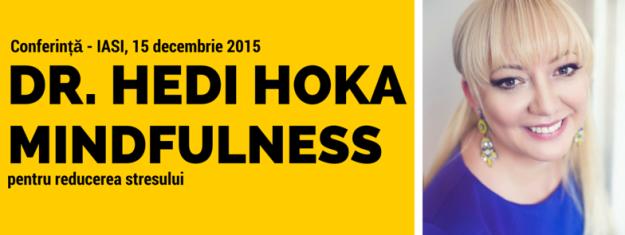 Mindfulness dr. Hedi Hoka - cover